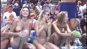 In public with hottest busty spanish hotwife