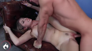 Brunette Alyce Anderson fucked all the way