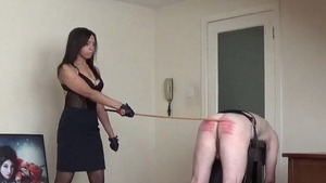 Dominatrix domination spanking