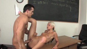 Teacher Barbie Addison penetration in school