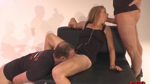 Super sexy german MILF raw interracial fuck HD