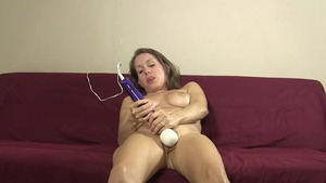 Big tits amateur Lelu Love homemade masturbating