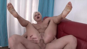 Busty blonde desires rough nailing
