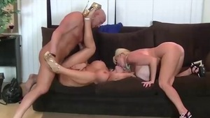 Hardcore sex together with busty female