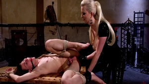 Fetish femdom in the company of very hawt mistress Cherry Torn