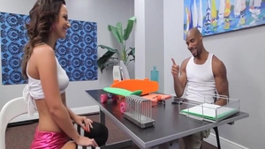 Incredible Jada Stevens has a soft spot for rough nailing