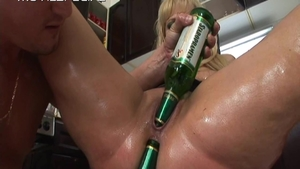 Big boobs MILF needs playing with toys