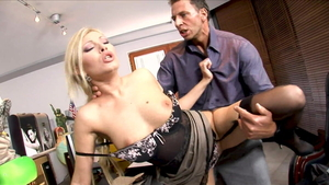 Raw hard pounding with Helena Sweet