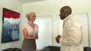 Hard pounding with big ass housewife