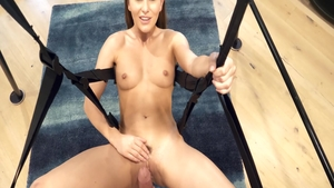 Swinger Paige Owen blowjobs
