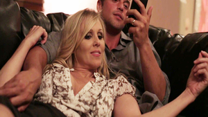 Pussy eating XXX video with stunning rough Julia Ann