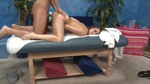 Massage Session With fucking And Facial cumshot