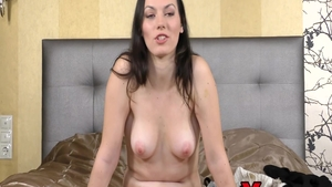 Very hot babe Sarah Highlight gets a buzz out of rough sex