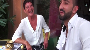 Short haired young french MILF