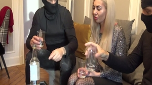 Group sex video accompanied by naughty hardcore Isabella Clark