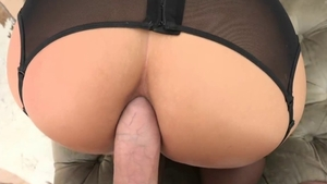 Passionate Phoenix Marie and David Perry POV butt sex