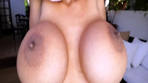 Kinky & busty fetish pussy fuck solo