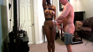 Bondage together with big tits mature
