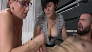 Young GILF lusts real fucking