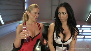 Squirting with Cherie Deville & Isis Love