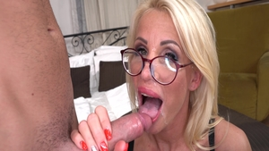 Getting a facial alongside lonely blonde babe Tiffany Rousso