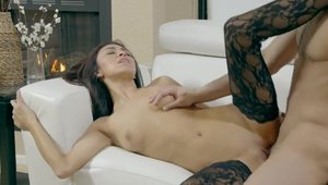 Hard ramming starring busty babe Cadence Lux