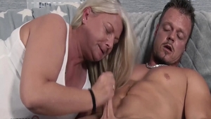 Big ass european mature has a taste for nailed rough