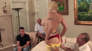 Charming housewife anal fucked