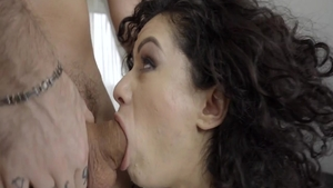 Hawt brunette Stacy Bloom rough fun with toys