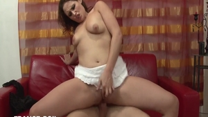 Glamour french babe ass pounded in HD