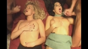 Passionate supermodel really likes group sex in HD