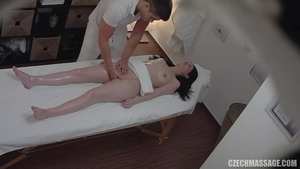 Brunette craving rough nailing in HD