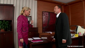 Sloppy fucking escorted by blonde haired