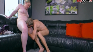 Very fat and skinny BBW Pussy fucked at castings