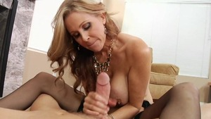 POV plowing hard in company with Julia Ann