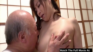 Rough sex starring small tits japanese MILF