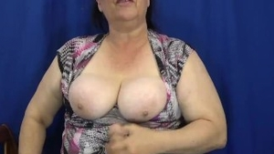 Chubby big tits amateur POV instruction HD