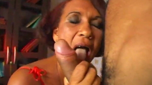 Roleplay next to saggy tits african MILF