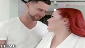 Hottest redhead has a thing for fucking hard