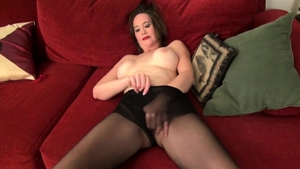 Fingering in the company of MILF