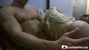 Hard sex in company with tight amateur