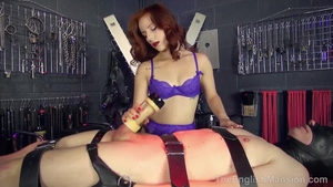 Babe finds pleasure in nailing