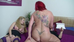 Aged mature sex for money at castings
