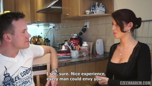 European Zuzana Zeleznovova impressed by Samantha Snow cumshot
