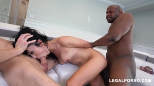 Hairy Marica Hase brunette interracial fuck porn