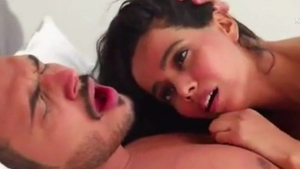 Hawt desi couple raw throat fuck