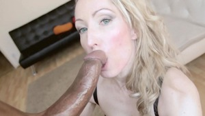 Very nice Candy May sucking cock