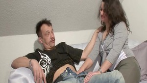 Hardcore blowjobs with german stepmom