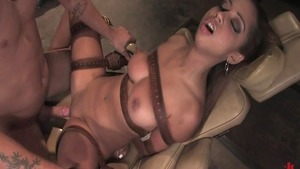 Very sexy spanish couple first time BDSM