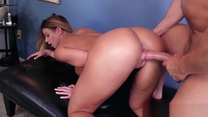 Rough good fuck with Laz Fyre plus big tits Brooklyn Chase